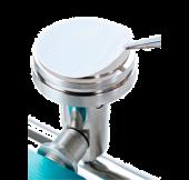 EZ-FIT suodatuslaite 1-paikkainen Microfil suppiloille