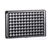 Sensoplate 96-kuoppalevy tasapohja kannella