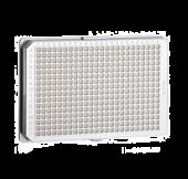 Soluviljelylevy 384-kuoppaa tasapohja valkoinen