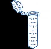 Crystal Clear Mikrosentrifugiputki 2,0 ml steriili