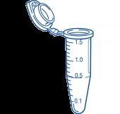 TubeOne Mikrosentrifugiputki 1.5 ml 500 kpl, värilajitelma